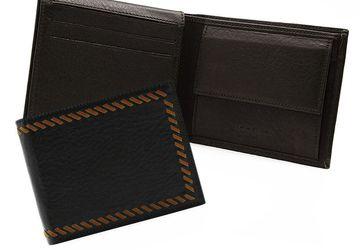 Кожаное мужское портмоне Cangurione 1211-002 DP Brown