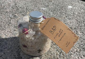 Соль для ванны с бутонами роз