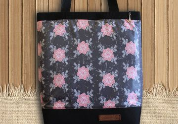 "Текстильная сумочка ""Flowers""."
