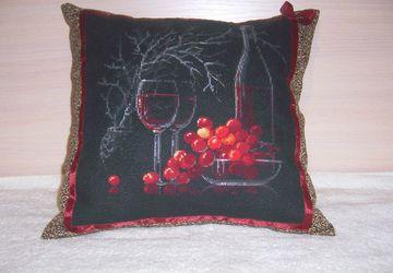 "подушка ""Вечер романтики"""