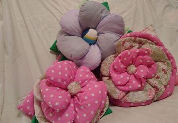 Собери свой подушко-цветник, сделай дом уютнее и мягче!