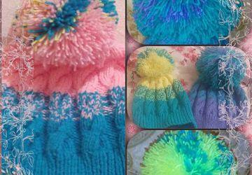шапочки для деточек и мамочек