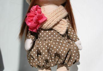 Кукла ручной работы из ткани