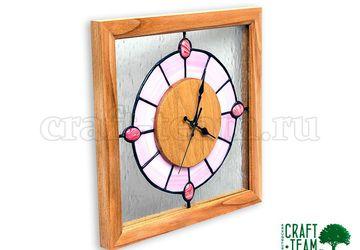 Часы с витражом Тиффани