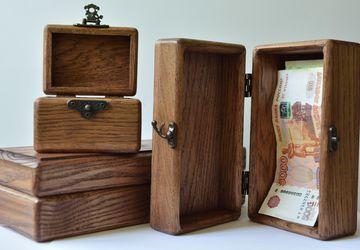 Шкатулки из цельно дуба (для денег,эфирных масел, чая, кофе, украшений и косметики)