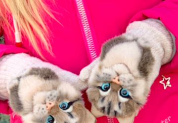 Котоварежки детские