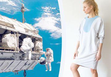 Махровое платье с цветной вставкой COMFORT line by Ksusha Raikova