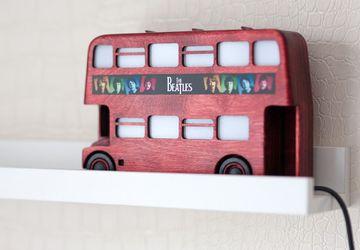 """Ночник """"Лондонский автобус"""""""