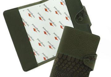 Обложка для паспорта CANGURIONE 3326-026 DP ANC Olive