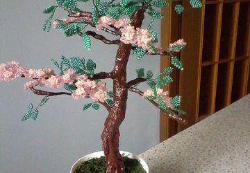 Цветущее дерево для интерьера