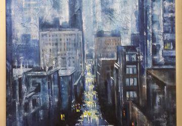 Туманный мегаполис