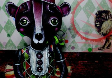 Цирковая медведица 1