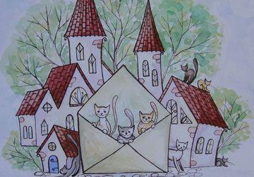 Fairy post письма из сказки Праздник живых писем