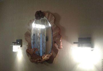 Зеркало с завитушкой