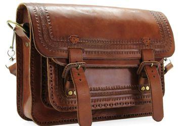 Мужская кожаная сумка Mexico 0017-М. Ручная работа.