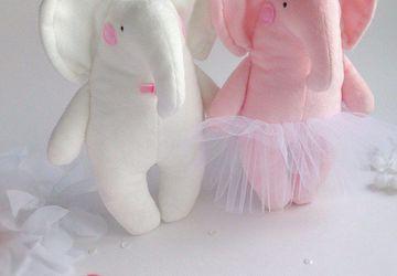 Мягкая игрушка Свадебные Слоники