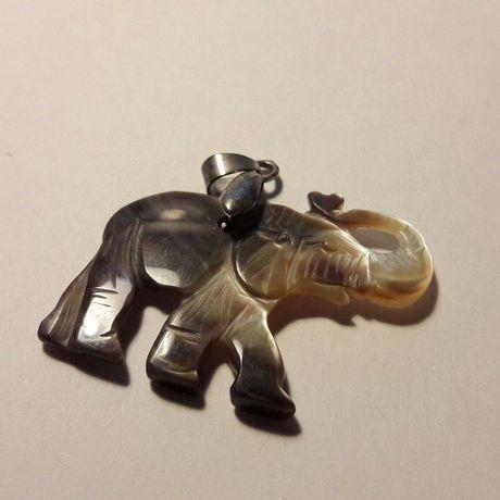 ручная бижутерия работа слон