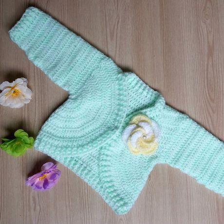 мода одежда кофта вязание длядетей крючком назаказ кардиган болеро стиль