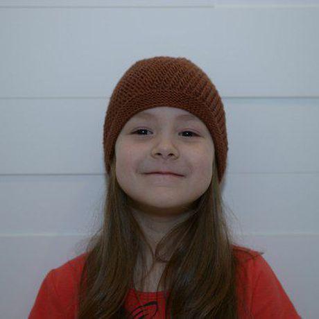 вязанаяшапка шапкидетям шапка_синяя шапка_вязаная шапкадлямальчика вязание_спицами коричневая_шапка шоколадная_шапка рукоделие шапка handmade ручнаяработа