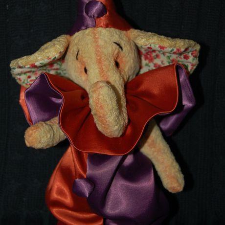 работы ручной слоник игрушка тедди ручная авторская работа