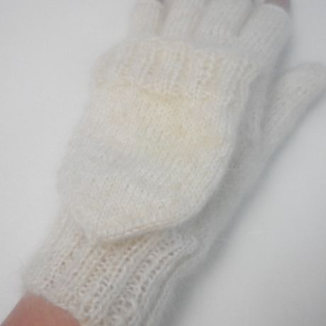 спицами зимнее вязание варежки заказ