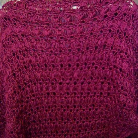 женская одежда вязание акрил шаль аксессуары
