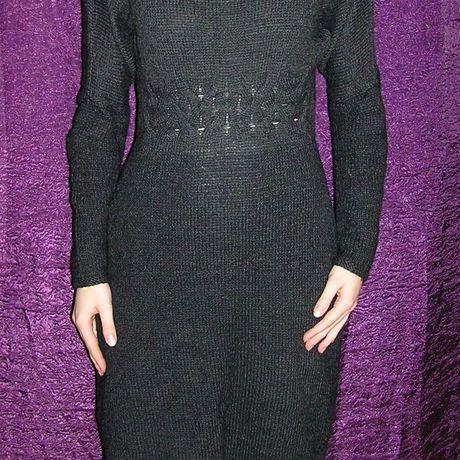 платьевязаное платьезимнее платьескосами вязаноеплатье платье