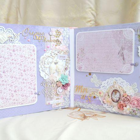 нежность подарки ручная альбом деньрождения скрапбукинг работа девушке