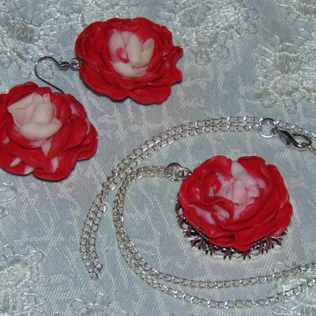 украшения серьги комплект кулон красота подарок