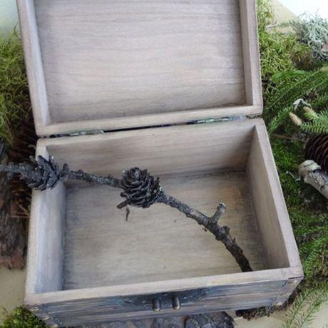 работы шкатулка ручной женщине имитация дерева старинная старого волк мужчине подарок
