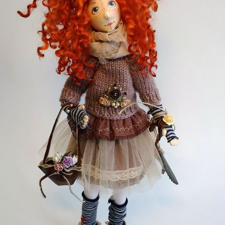 tilda handmade авторская куклыгульнарыс ручная тильда интерьернаякукла работа кукла украшение коллекционннаякукла
