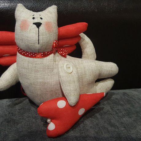 валентинка кот тильда