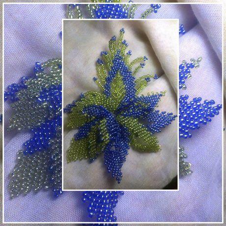 бижутерия брошьизбисера подарки украшение бисер ручнаяработа цветы