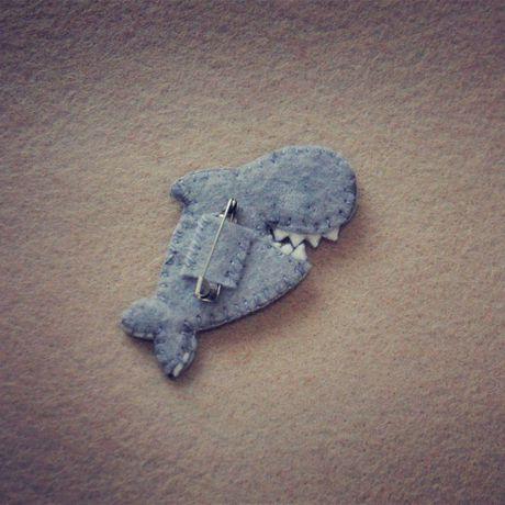 bogiboo акула спб брошка брошь фетр