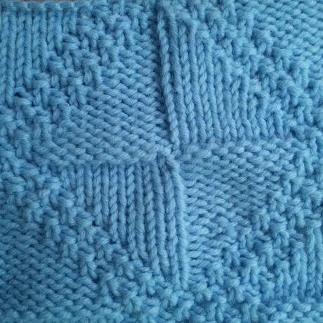 шарфтруба работы орнамент два оборота узором с спицами снуд из шерстяной длинный шарф ручной теплый женский шерсти голубой вязаный в