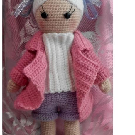ручная_работа куклы_вязанные handmade