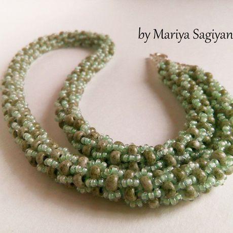 зеленый турецкий женщицны вязаный для бижутерия жгут украшение девушки подарок
