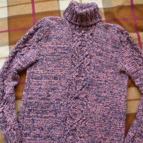 свитер любовью мягкий связанный тёплый с красивый