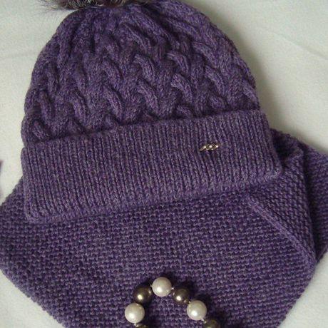 handmade вязание шапкаспомпоном ручнаяработа назаказ