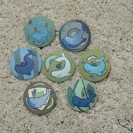 киты украшения handmade