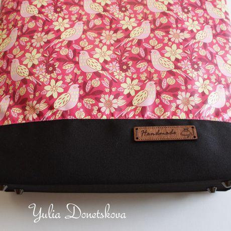 сумка handmade путешествие фурнитура удобно стропа птицы подарок птица