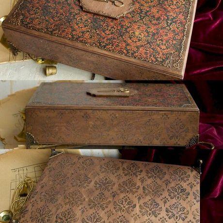 рукодельнице женщине маме декупаж рукоделие шкатулка подарок