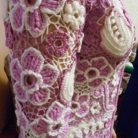 ирландское вязание кружево крючок заказ