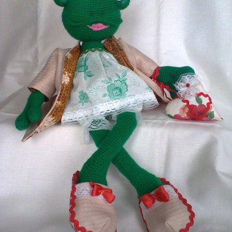игрушкисвоимируками игроваякукла лягушка своимируками