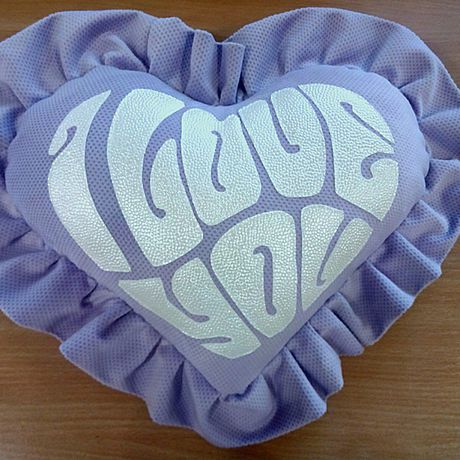 подушки валентинки подарок