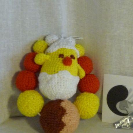 игрушка цыпленок прорезыватель грызунок погремушка