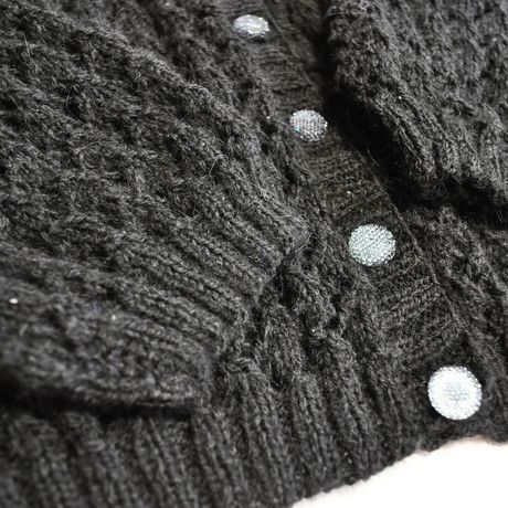 вязаниеспицами ручнаяработа чернаякофта черныйкардиган большойразмер кофтаизмохера вязаниедляженщин