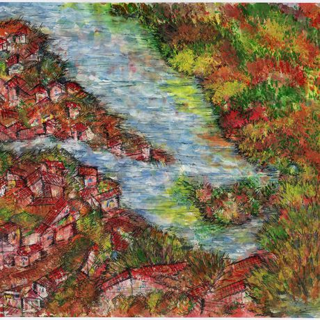 акрил вдохновение гель рисунок акварель море