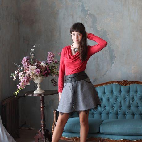 юбки для школы необычные модные красивые