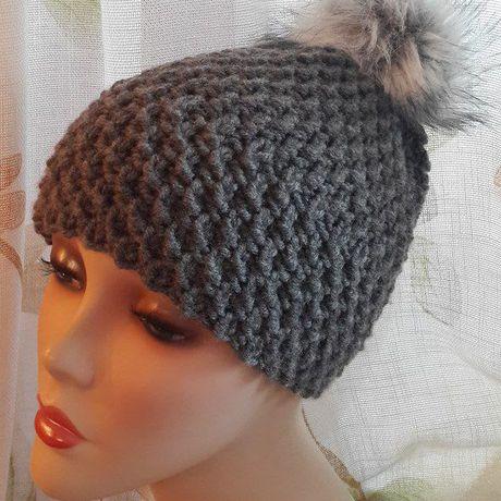 шапка вязание ручнаяработа